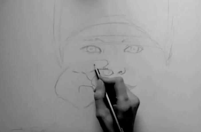 Zeichnen lernen gesichter zeichnen lernen holidays oo h for Couch zeichnen