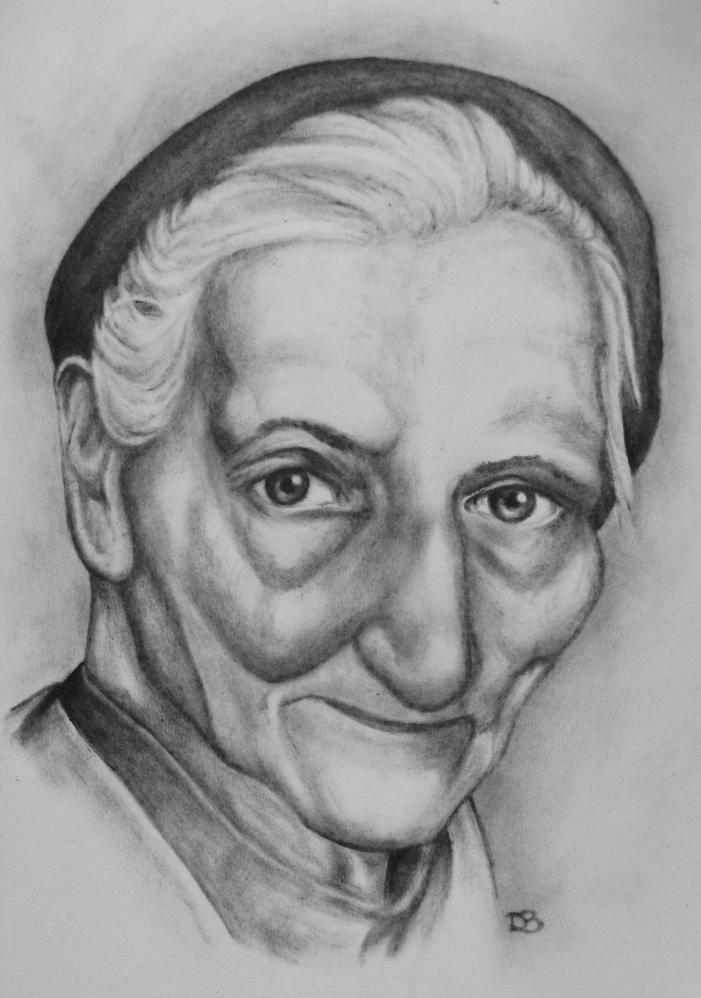 zeichnung-uroma-portrait- ...